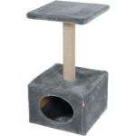 Arbre à chat BASIC solo, gris