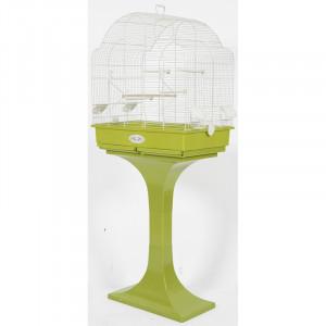 Cage Arabesque LOUISE 68 cm olive