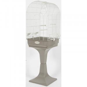 Cage Arabesque NOEMIE 50 cm taupe