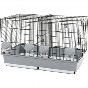 Cage ELEVAGE 67 noir/gris