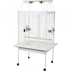 Cage KUBEO 96 cm blanche