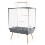 Cage NEO JILI, 80 cm, gris