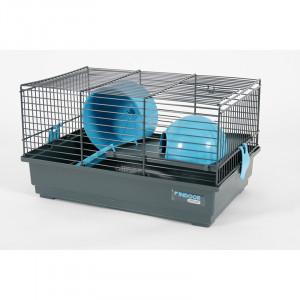 Cage INDOOR 40 cm hamster bleu
