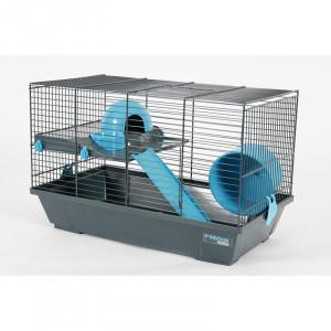 Cage INDOOR 50 cm hamster bleu