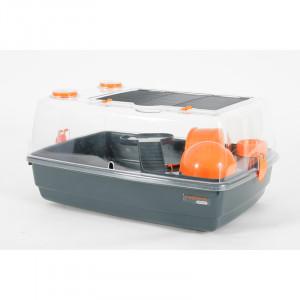 Cage INDOOR 55 cm hamster «vision 360» orange