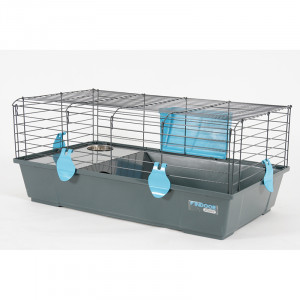 Cage INDOOR 80 cm bleu