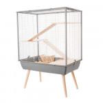 Cage NEO COSY, 80 cm, gris