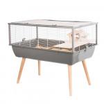 Cage NEO NIGHA, 36 cm, gris
