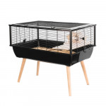 Cage NEO NIGHA, 36 cm, noir